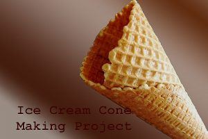 ice cream cone making business