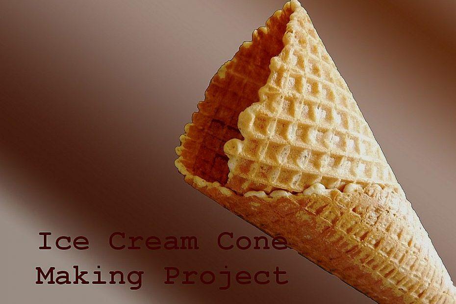 ice cream cone making business