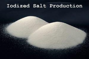 iodized salt production