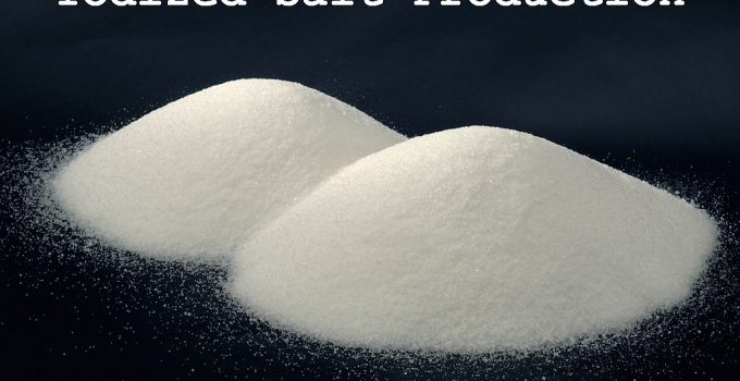 iodized salt production