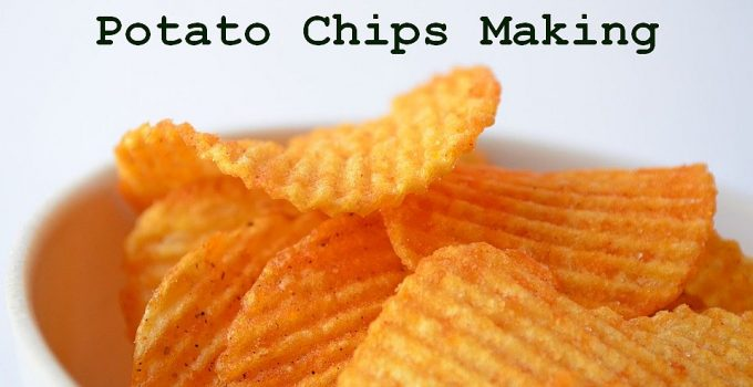 potato chips making business